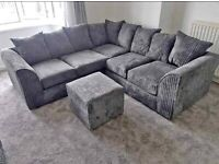 LIVERPOOL JUMBO CORD COUCHES CORNER AND 3+2 SEATER SOFA SET AVAILABLE IN STOCK