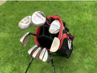 Hippo Half Golf Set, Driving Iron, 3 Wood, Hippo Rescue, Hippo Plus Irons, Lob Wedge and Putter