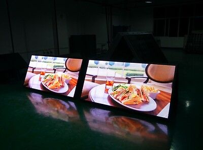 Custom 48 Programmable Outdoor Digital Full Color Led Sign With Wireless