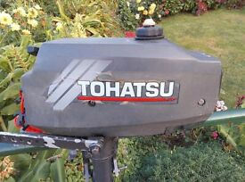 Tohatsu 3.5HP Outboard Engine (Just Serviced)