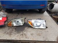 Mitsubishi Shogun Pinin headlights and rear lights