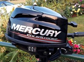 Mercury 3.5HP Outboard Engine (Just Serviced)
