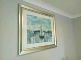 Dunelm framed print