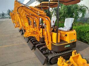 EXCAVATOR MINI 800kg DIGGA MACHINERY TRACTOR FARM CIVIL LANDSCAPE Campbellfield Hume Area Preview