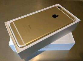 128GB iPhone 6 Plus unlocked Gold