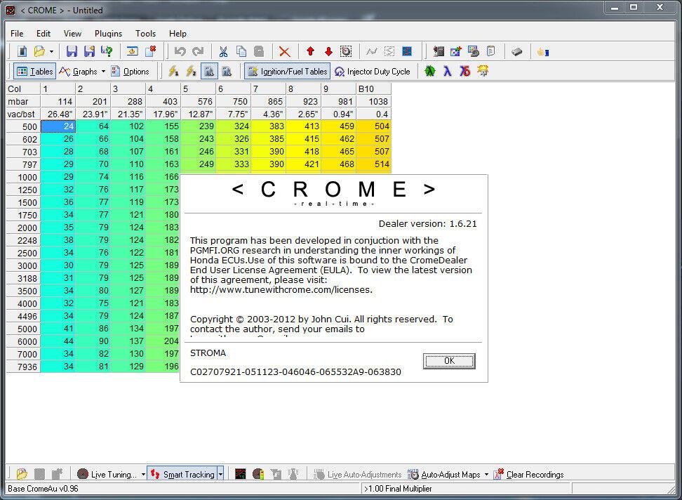 CROME DEALER Version with NO EXPIRATION Honda OBD1 P28 P72 P30 P06 ECU TUNING
