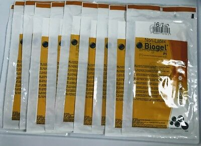 Biogel Pl Non Latex Surgical Gloves Size 6 12 10 Pairs