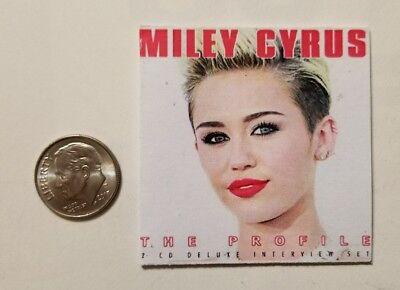 Miniature Record Album Barbie 1 6 Playscale Album Rock Action Figure Miley Cyrus