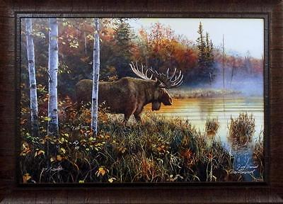 His Domain - Jim Hansel Master of His Domain Framed Print-Signed and Numbered