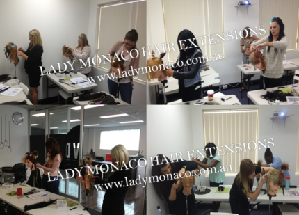 ADELAIDE HAIR EXTENSION TRAINING COURSES 6 METHODS