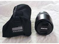 Pentax smc DA 55-300mm f/4.0-5.8 ED wide range zoom lens, with pouch, K mount fit, for K-5, K-3 etc.