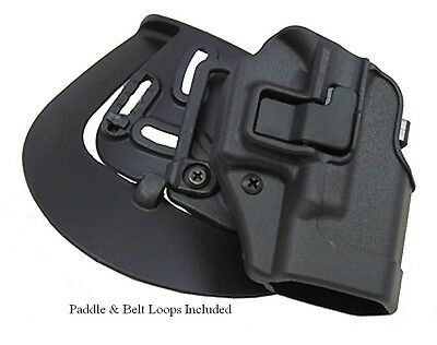 Blackhawk Serpa Cqc Holster Springfield Xd Sub Compact 9 40 Pistols 410531Bk R