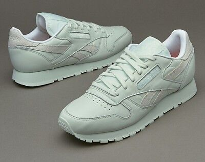 NEW Reebok women's  Classic Leather - Philosophic Sneakers (Mint) size 8 V69380