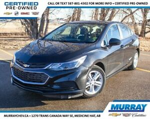2018 Chevrolet Cruze LT *Heated Seats *Park Assist *Block Heater
