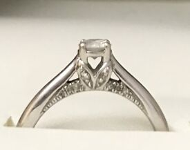White gold ring (REDUCED)