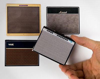 Fender Twin Rverb, Bassman, Vox AC30, Marshall 1974X 2D MAGNET SET vintage...