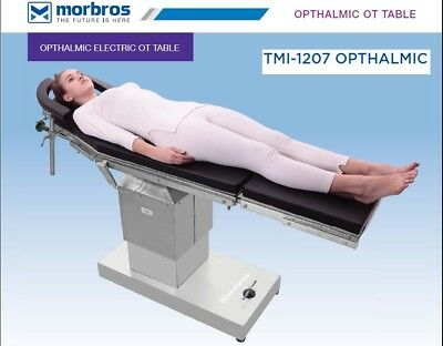 Electric Operating Ophthalmic Ot Table Surgical Operation Theater Table