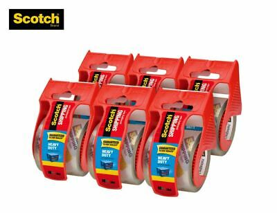 Hot Scotch Heavy Duty Shipping Packaging Tape 1.88 X 800 Inches 6 Rollspack