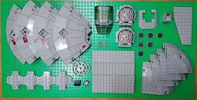 LEGO STAR WARS 7190 MILLENNIUM FALCON PARTS LOT 33 VINTAGE PIECES PRINT DESIGN