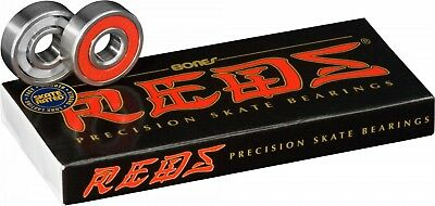 Bones REDS Skateboard Skate Genuine BEARINGS set of 8 NEW