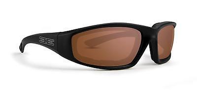 New Epoch Eyewear Lacrosse Foam Photochromic Padded Motorcycle Black Sunglasses