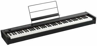KORG D1 88 KEY DIGITAL ELECTRONIC PIANO BLACK DAMPER PEDAL AND MUSIC STAND for sale  Shipping to South Africa