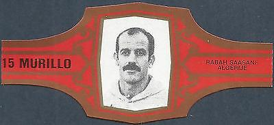 FOOTBALL MURILLO CIGAR BAND-15-ALGERIJE-ALGERIA-RABAH SAASANE