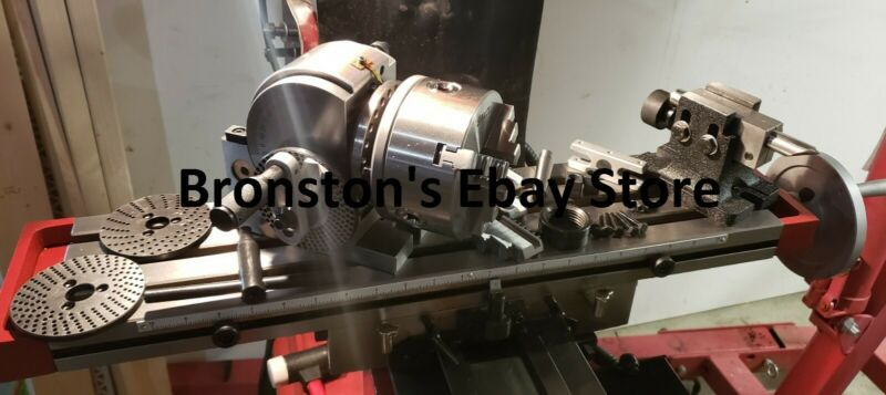"5"" Dividing/indexing head rotary table, tail stock, between centers, for milling"