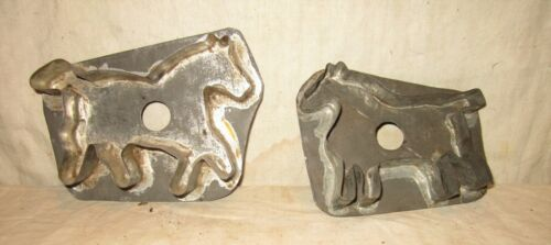 TWO GREAT RUNNING HORSES COOKIE CUTTERS