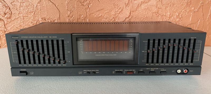 Sansui SE-3000 Stereo Graphic Equalizer