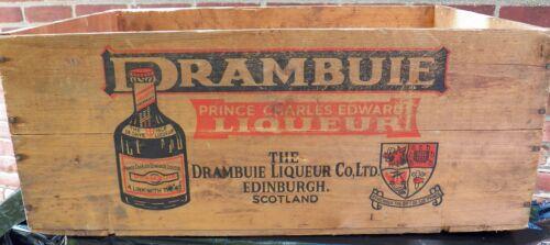 Drambuie Case Crate Box Dated 1969 Tayler NY,NY