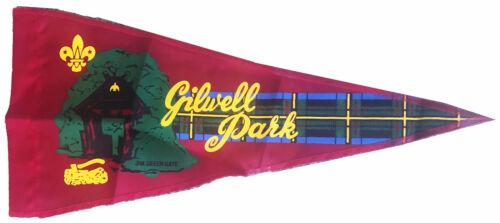 Wood Badge Gilwell Park Red Pennant  original packaging (Woodbadge)