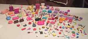 BARBIE food and accessories