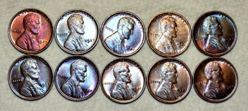 Brilliant Uncirculated 1927-P Lincoln Cent, Beautiful specimens
