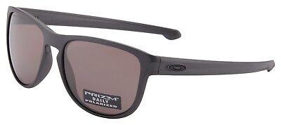 Oakley Sliver R Sunglasses OO9342-08 Steel | Prizm Daily Polarized Lens | BNIB