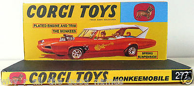 """Repro Box Corgi Nr.277 The Monkees /""""Monkeemobile/"""""""
