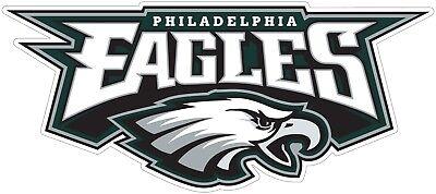 - Philadelphia Eagles NFL Color Die Cut Vinyl Decal  - You Choose Size 2