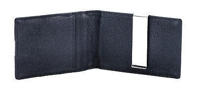 Geldbörse mit Geldklammer RFID-Schutz - Geldclip Ledergeldbörse Geldbeutel Leder - Geldbörse Mit Geld-clip