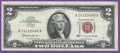 1963  2 00 United States Note   Granahan Dillon   A14165486a