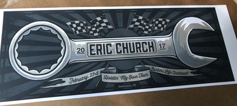 Eric Church Indy Poster