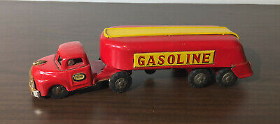 LINEMAR GASOLINE TIN TOY FRICTION TRUCK
