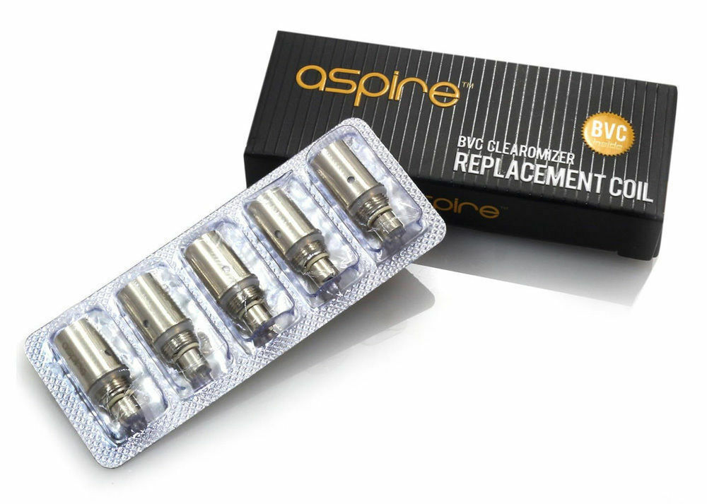 Aspire BVC Clearomizer Replacement Coil 1.8/2.1/1.6 Ohm For - K1 ET ET-S CE5S