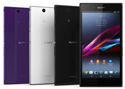 "Sony Xperia Z Ultra XL39H C6802 C6833 Unlocked Original Android 4G LTE 6.4"" 8MP"
