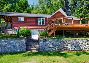 LakeFront Cottage for rent btwn French River & Sudbury-Nepewassi
