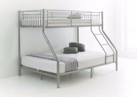 ORDER NOW SINGLE TOP BOTTOM DOUBLE METAL TRIO SLEEPER FRAME BRAND NEW SAME DAY DELIVERY