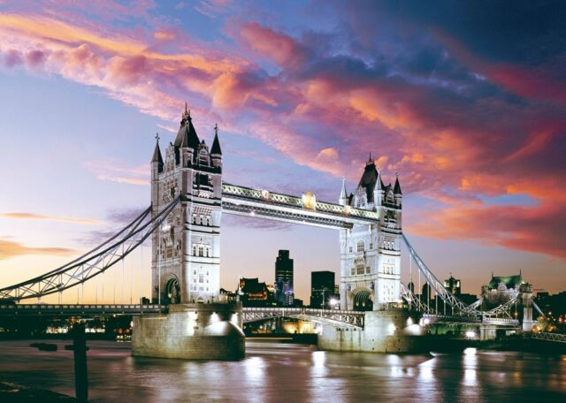 Puzzle Castorland 1000 Teile - Tower Bridge, London (446)