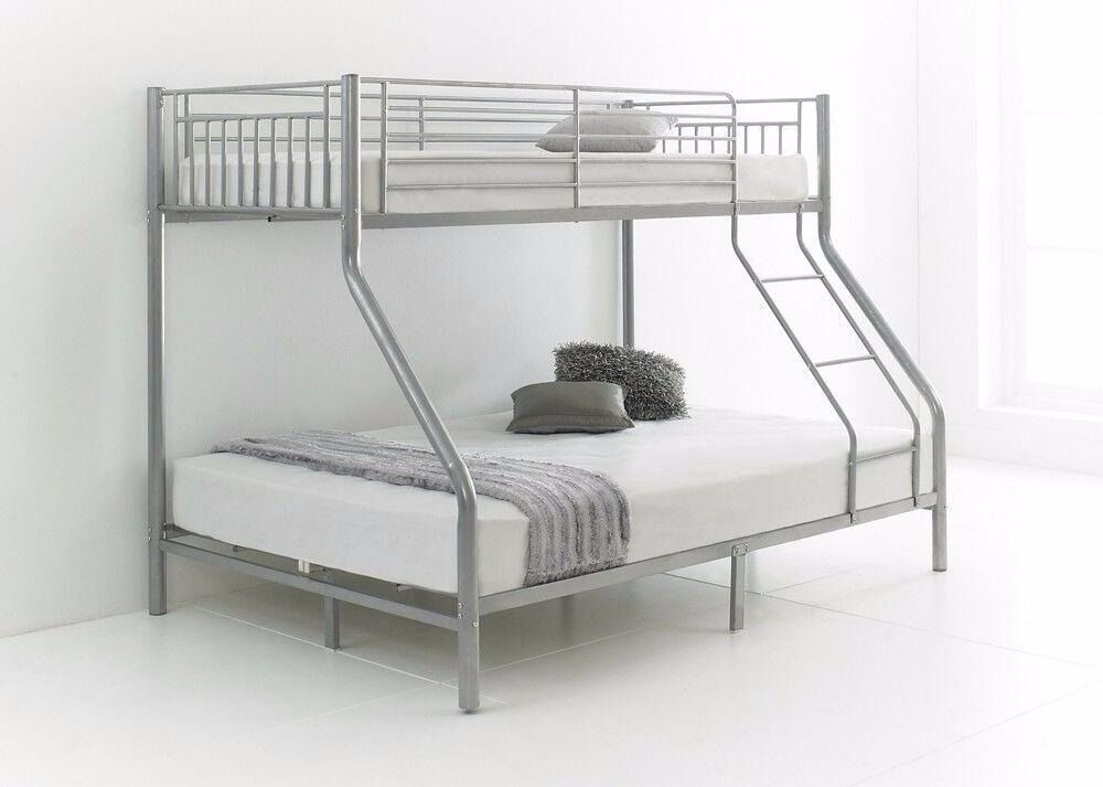 Amazing Brand New Single Metal Bunk Beds Double Bottom