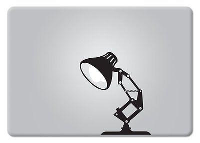 Pixar lamp vinyl sticker for 13