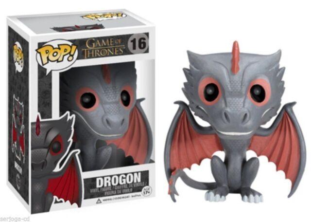 Game Of Thrones POP! DROGON 10cm Vinyl Figur OVP Funko Dragon