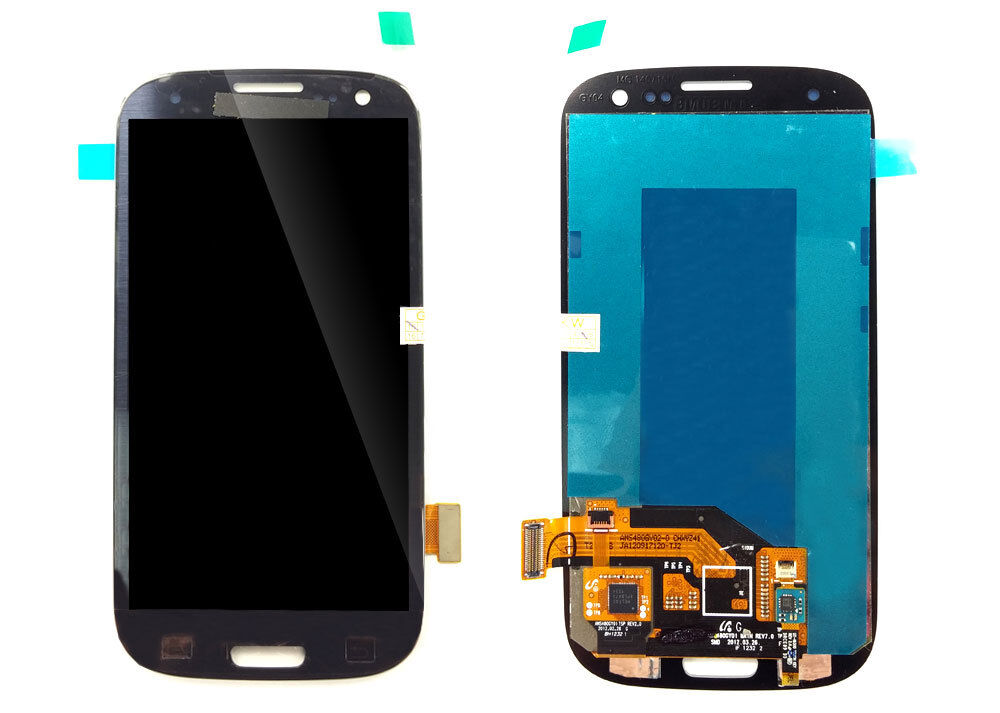 Samsung S3 Blue Lcd Touch Screen Replacement I747 T999 I5...